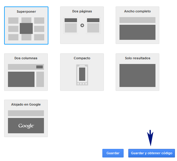 ¿Cómo insertar el buscador personalizado de Google en Blogger?