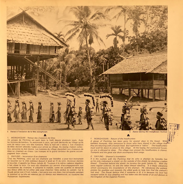 Dayak tribal music from Borneo Kalimantan Indonesia