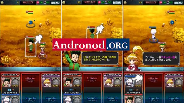 HUNTER X HUNTER Battle All Stars v1.4.3 Mod Apk (One Hit/God Mode)
