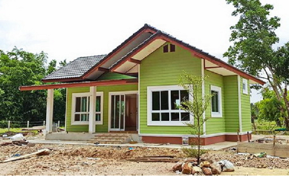 Almost everyone dreams of building a dream house located in the province where we want to live in a calm and relaxing environment. This is what we'll show you with these 5 houses we've chosen to inspire you. Take a look at the sample of colorful single-storey homes designed with interior and exterior design. These will surely be a model and inspiration to those who are looking for a new home. One bedroom style home consists of 3 bedrooms, 2 bathrooms, living room and a kitchen. HOUSE MODEL 1                  HOUSE MODEL 2    The house consists of 1 bedroom and 1 bathroom with living area of 31 square meters.                                HOUSE MODEL 3    The one-storey loft style consists of 2 bedrooms, 1 bathroom, a central hall, an open kitchen and a front porch. The area of 60 square meters.                                                                                                                        HOUSE DESIGN 4    Modern style house. The living space of 86 square meters consists of 1 bedroom, 1 bathroom, central hall and kitchen.                                      HOUSE MODEL 5    Single-winged roof. The 53 sq.m. consists of 1 bedroom, 1 bathroom, central hall and front porch.                SOURCE: naibann