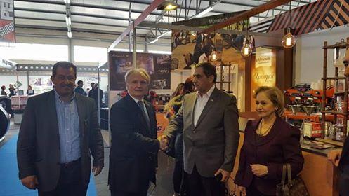"""Επίσκεψη Ανδριανού στην έκθεση των Επιμελητηρίων Πελοποννήσου """"Πελοπόννησος EXPO"""" - Συνομιλία με τον Πρέσβη της Ιορδανίας κ. Fawwaz Al-Eitan"""