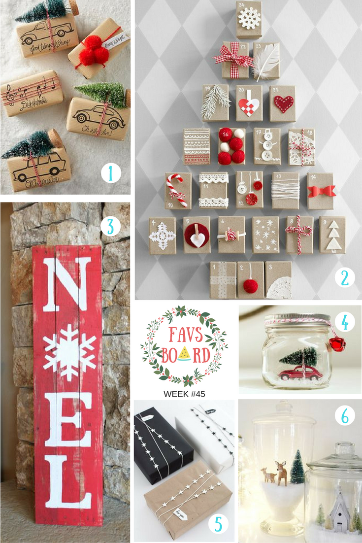 Fav board week #45: Christmas ideas
