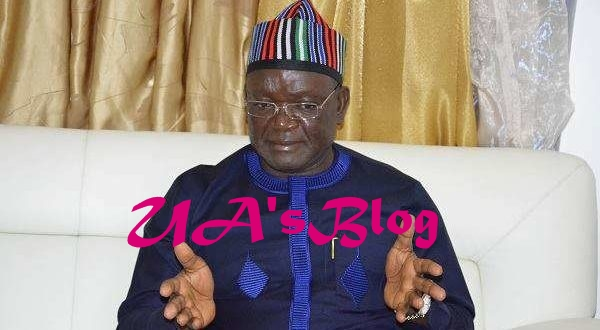 Benue Killings: Full text of Ortom's speech during Buhari's visit to Benue