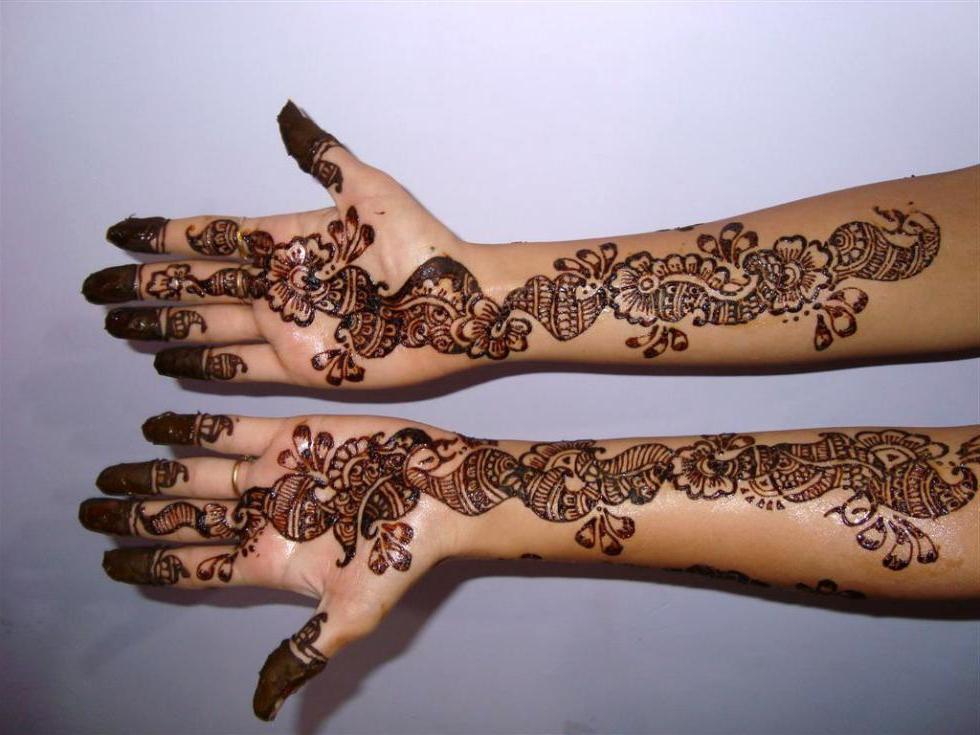 Pretty Simple Henna Designs: Top53 Beautiful Latest Easy Henna Mehndi Designs