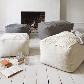 soft cubes seatings wool