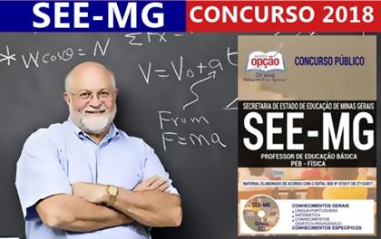 Concurso SEE-MG 2018 Professor de Física