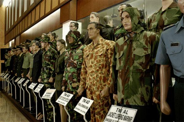 Seragam NATO dibuat Di Sukoharjo Indonesia