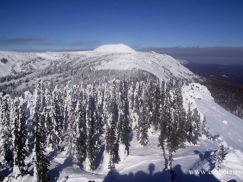Гора Большой Уван. Национальный парк Зюраткуль ...