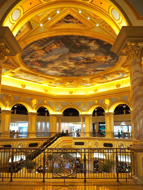 Great Hall inside The Venetian, Macau