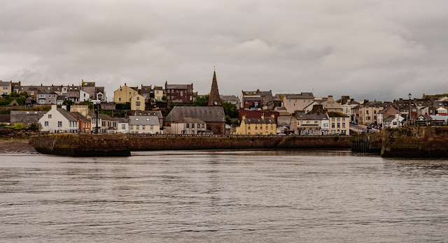 Photo of Maryport from the basin as we left the marina on Monday