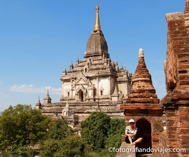Gawdawpalin Pahto en Bagan, Myanmar