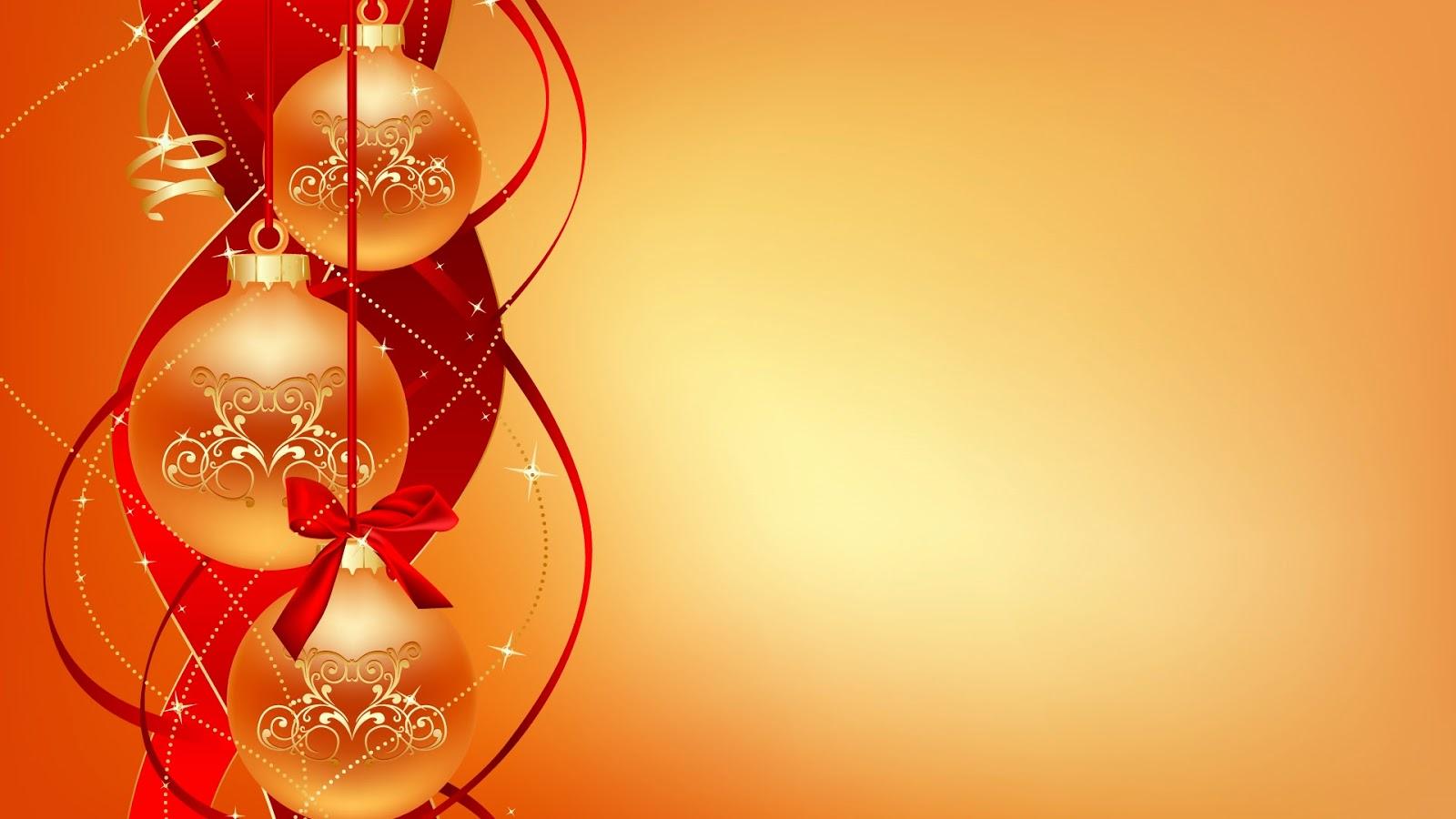 Www Alone Girl Wallpapers Com Imagenes Hilandy Fondo De Pantalla Navidad Bolas Naranjas