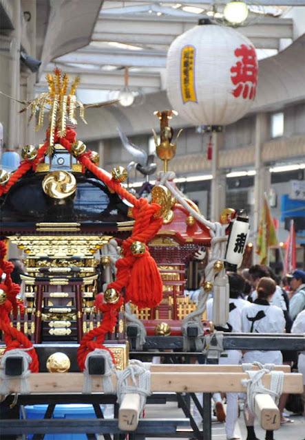 Hien Natsu Matsuri (summer festival), Tsubame City, Niigata Pref.