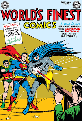 World's Finest (1941) #71 Cover