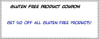 Rewards code for Gluten free product