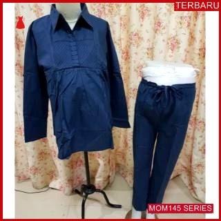 MOM145B16 Baju Setelan Hamil Executive Menyusui Bajuhamil Ibu Hamil