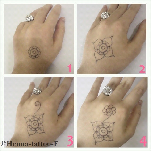 henna tattoo by f little tutorial 3. Black Bedroom Furniture Sets. Home Design Ideas
