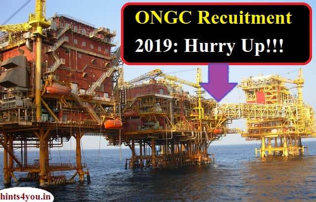 Oil and Natural Gas Corporation Limited has invited applications for handpiece posts. More than 4 thousand candidates will be selected for this recruitment.