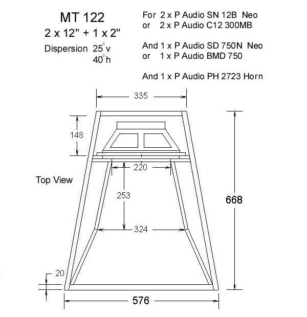Detail rancangan speaker box super jauh
