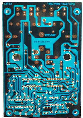 High Power Class D Amplifier PCB