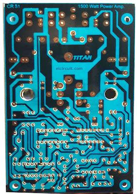 High Power Class D Amplifier PCB
