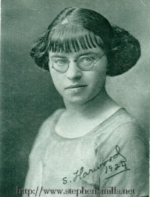1924 photo of Stella Mae Harwood