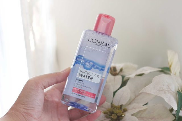 L'OREAL PARIS MICELLAR WATER REVIEW