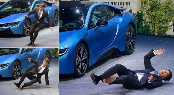 BMW chief executive Harald Krueger faints