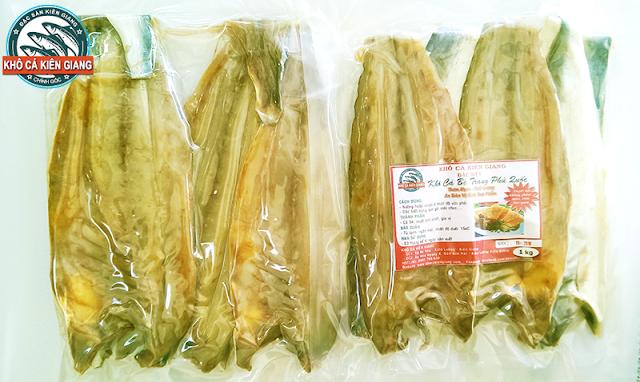 Khô Cá Bè Trang Phú Quốc đóng gói hút chân không trước khi đến người tiêu dùng