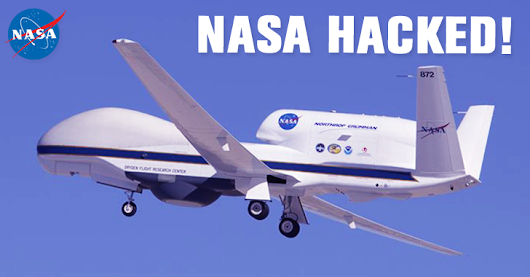 NASA HACKED! AnonSec tried to Crash $222 Million Drone into Pacific Ocean