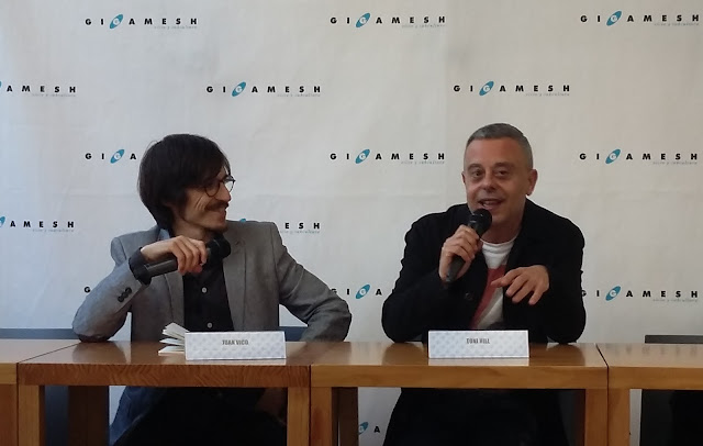 Juan Vico y Toni Hill
