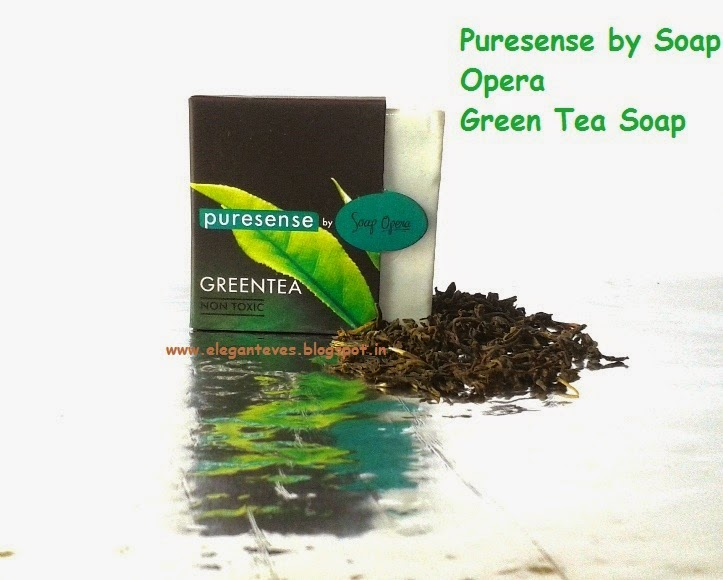 Puresense by Soap Opera Green Tea soap
