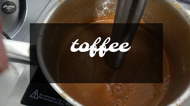 Recetas Básicas de Pastelería: Toffee