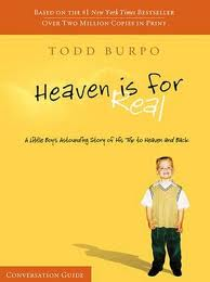 Heaven is For Real by Todd Burpo and Lynn Vincent - book cover