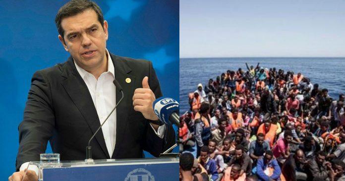 Τσίπρας: Γλυτώσαμε τον κίνδυνο να επιστρέφουν οι μετανάστες στην Αφρική