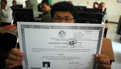 sertifikat pendidik