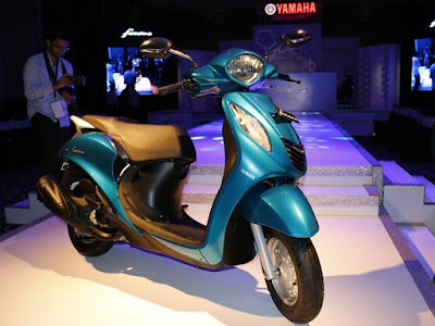 Yamaha Fascino scooter