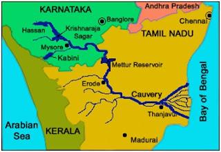 cauvery water dispute - कावेरी जल विवाद: जाने कर्नाटक और तमिलनाडु के बीच की लड़ाई की मुख्य वजह