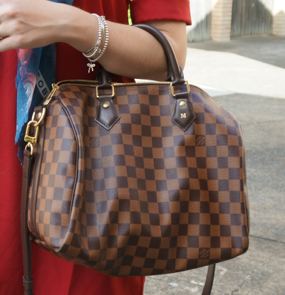 Away From Blue Brisbane Fashion Blogger Louis Vuitton Speedy Bandouliere damier ebene