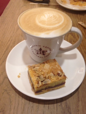 Pret Coffee and Cake