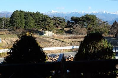 飯島町 自然酵母パン Chocotan(チョコタン)窓から見える南アルプス