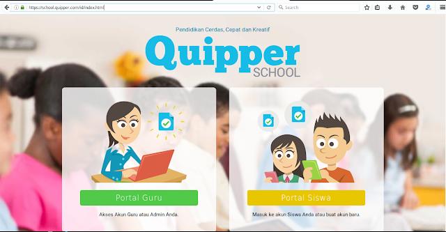 Quipper School Adalah dan Tutorial daftar