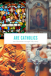 Hearing from a Christian Bloggers Group that Catholicism wasn't Christian enough for them was just the wake-up call I needed to better share my faith.