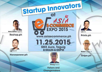 Presenting the Start Up Innovators at Asia E- Commerce Expo 2015