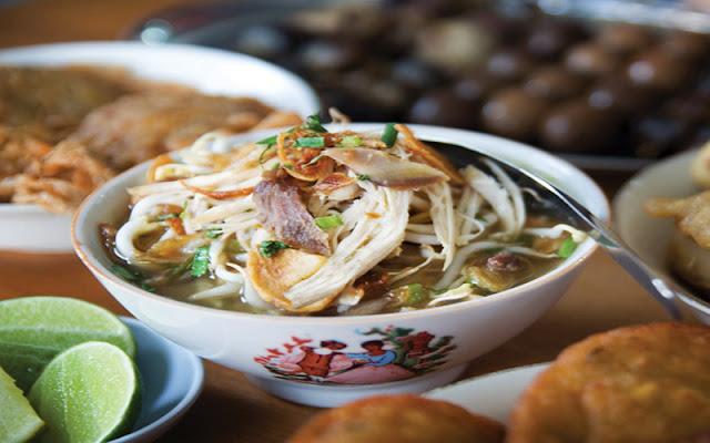makanan nusantara, soto, soto mandalika, kuliner, makanan indonesia