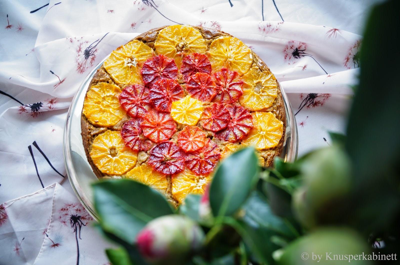Knusperkabinett Mandel Orangen Kuchen Vegan Und Glutenfrei