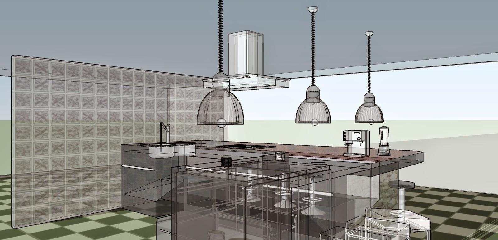 Decoramuebla cocina estilo industrial for Isla cocina industrial