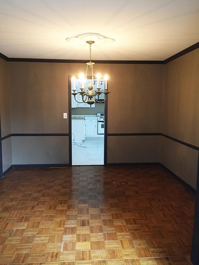 DIY // DINING ROOM CHANDELIER UPDATE - Oh So Lovely Blog