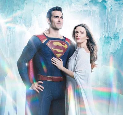 Tyler Hoechlin y Elizabeth Tulloch en Supergirl