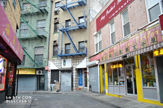 Barrios de Manhattan chinatown